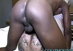 3 MONTHS PREGNANT DOUBLE CREAMPIE