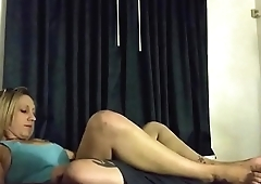 Eating my gf Stephie O.&rsquo_s pussy