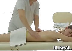 Hot massage porn